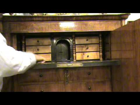 A furniture with hidden secret drawers youtube for Secret drawer kitchens