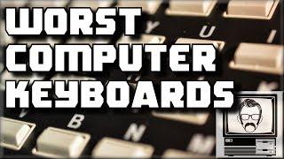 Worst 5 Computer Keyboards | Nostalgia Nerd