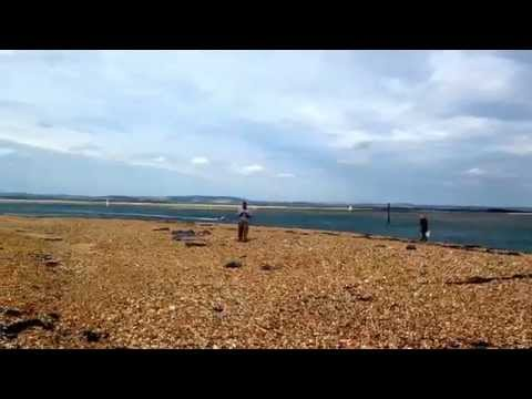 Marks adventures at Hayling Island