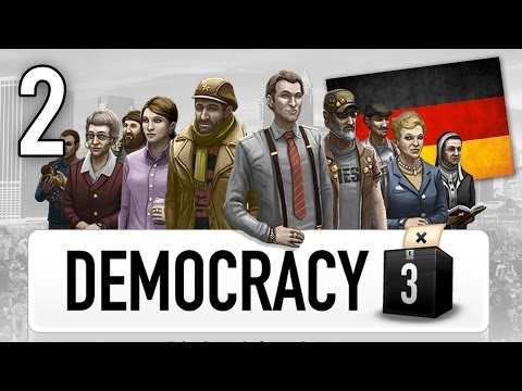 Let's Play Democracy 3 - Germany - Part 2 - Evolution Only!