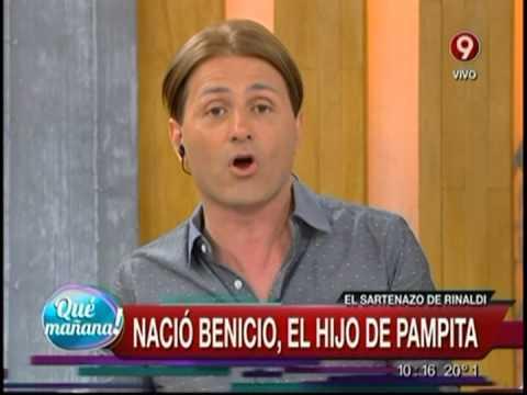 Nació Benicio, el hijo de Pampita
