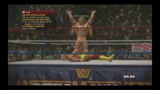 WWE 2k14 Hulk Hogan Vs. Ultimate Warrior FULL MATCH+INTRO
