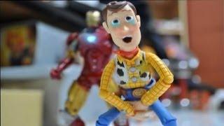 Iron man and Toy story stop motion : The Ambush 鋼鐵人與玩具總動員