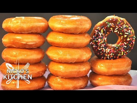 KRISPY KREME DONUTS - VIDEO RECIPE