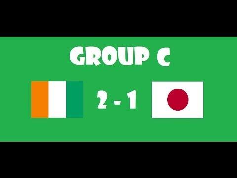 Fifa World Cup 2014 - Group C - Cote d'Ivoire VS Japan