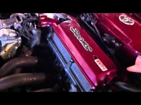 Запуск чистого двигателя 3S-GE Red Top