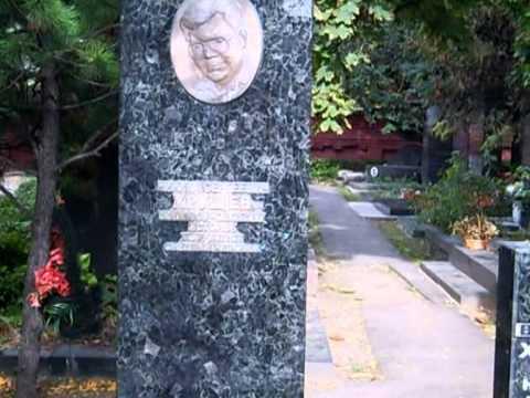 Новодевичье кладбище.Главная аллея. Часть 3