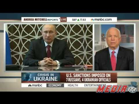 Sen. John McCain: Obama Should Have Promised Military Support for Ukraine