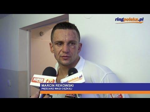 Marcin Rekowski po porażce z Oliverem McCallem