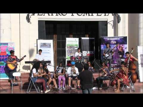II intervención taller de música ETJ Villa Alemana, enero 2015.