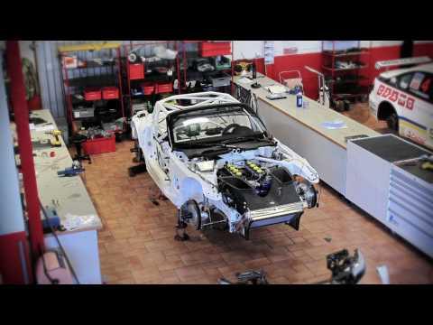 Składanie BMW Z4 GT3 od podstaw