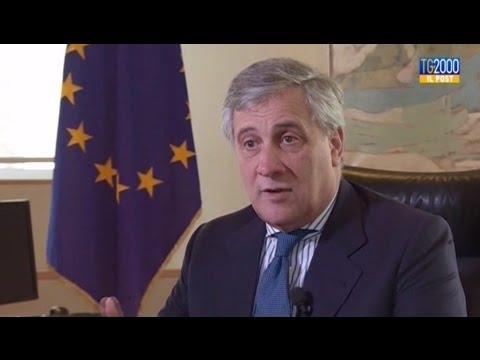 Bruxelles, intervista al Presidente Parlamento Europeo