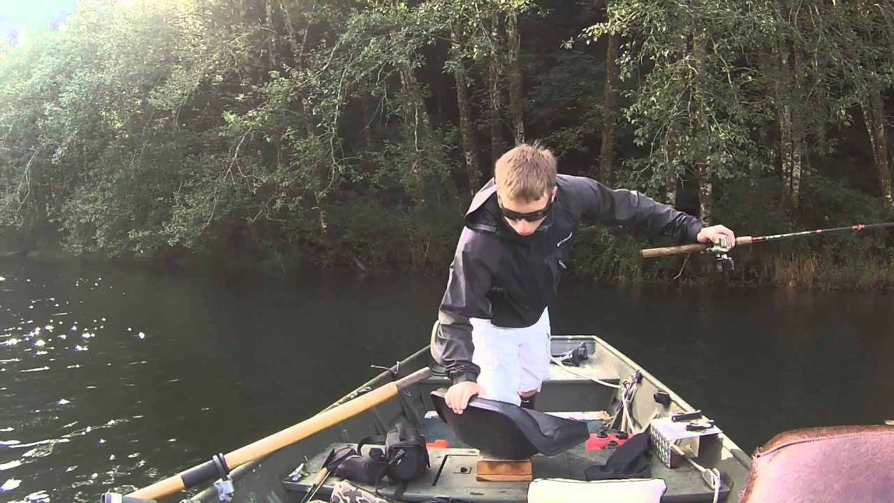 18 inch rainbow trout catch filmed on go pro youtube for Fishing license for disabled person