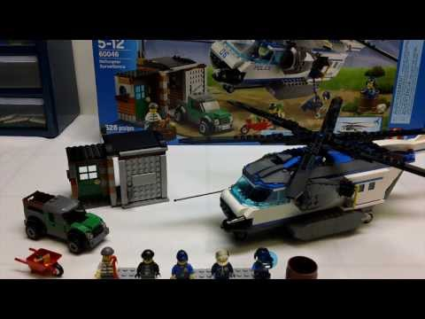 LEGO City 60046 Helicopter Surveillance Review