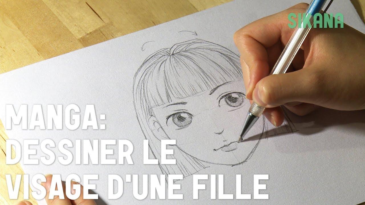 Wallpapers Apprendre A Dessiner Un Manga Fille