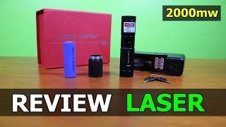 Review Laser Verde De 2000mw (Green Laser Pointer)