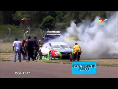 Big Fire Car @ 2013 Top Race V6 Viedma
