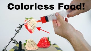 Is it Possible to Take The Color Out of Food? Amazing Colorless Food Experiment!