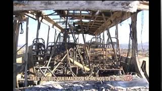 Bandidos incendeiam �nibus na Grande BH