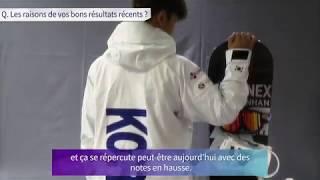 Interview de LEE Kwang-ki, snowboardeur en half-pipe