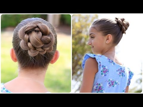 How to Create a 3D Flower Bun