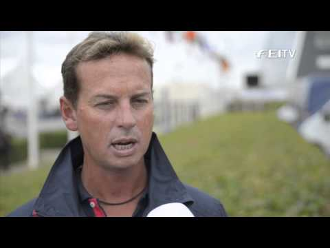 Ecco FEI European Championships 2013 Herning, Interview Carl Hester GBR)