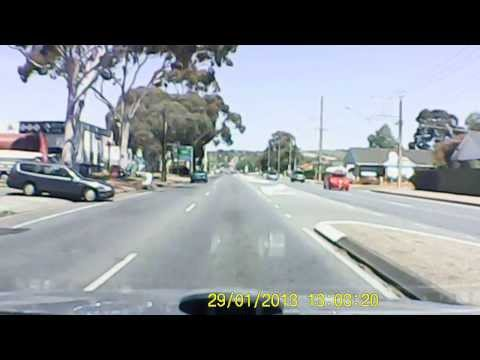 SA Rego: WBR-410 - Dangerous Elderly Driver Doesn't Even Look While Entering Main Road