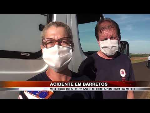 26/06/2020 - Homem de 52 anos morre em acidente em estrada Vicinal em Barretos
