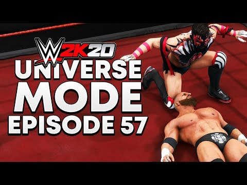WWE 2K20 | Universe Mode - 'KING OF THE RING PPV!' (PART 2/4) | #57