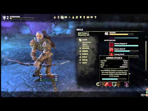 ESO Nightblade 1-50 Leveling Guide/Build