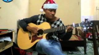 Last Chrismas(Wham)finger style guitar