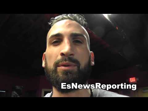 Zachary Wohlman about EsNews Boxing