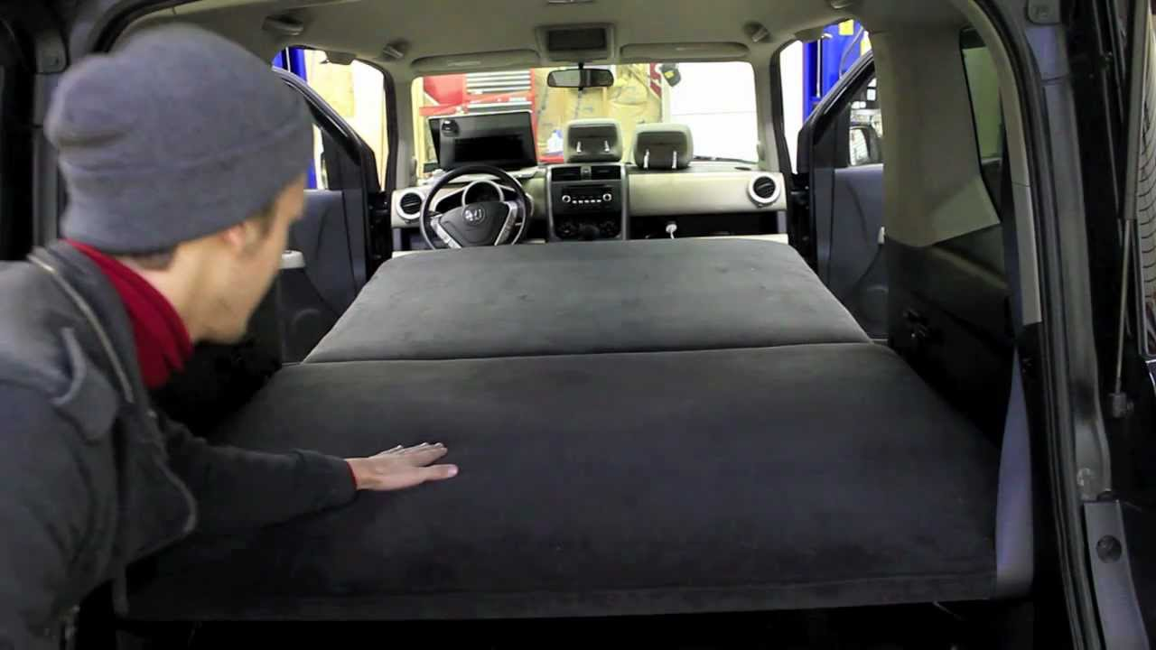 Honda Element Custom Bed For Car Camping YouTube