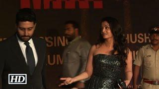 Watch : Abhishek left Aishwarya in front of Media, Behaves Awkwardly !