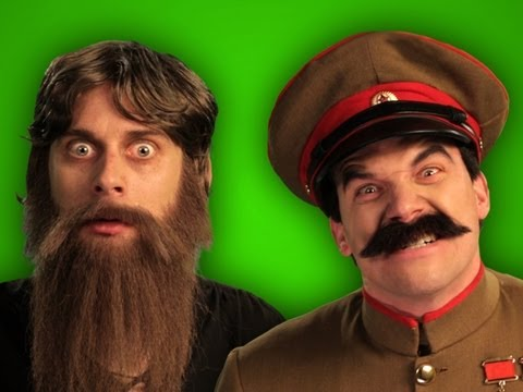 Epic Rap Battles of History - Behind the Scenes - Rasputin vs Stalin