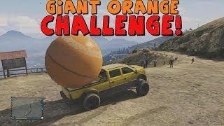 Grand Theft Auto 5 The Giant Orange Ball Challenge