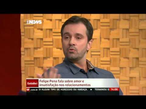 Felipe Pena fala sobre amor e insatisfação nos relacionamentos