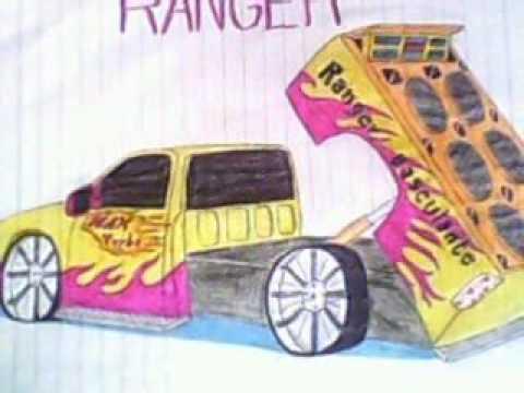 desenhos de carros tunados