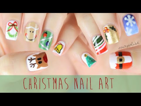 Nail Art for Christmas: The Ultimate Guide #2!