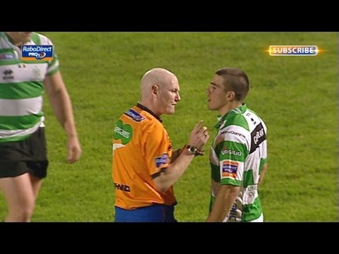 Dan Parks penalty from obstruction - Benetton Treviso v Connacht 26th Apr 2013