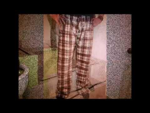 DIY pantalón pijama para hombre ( sin patrones )
