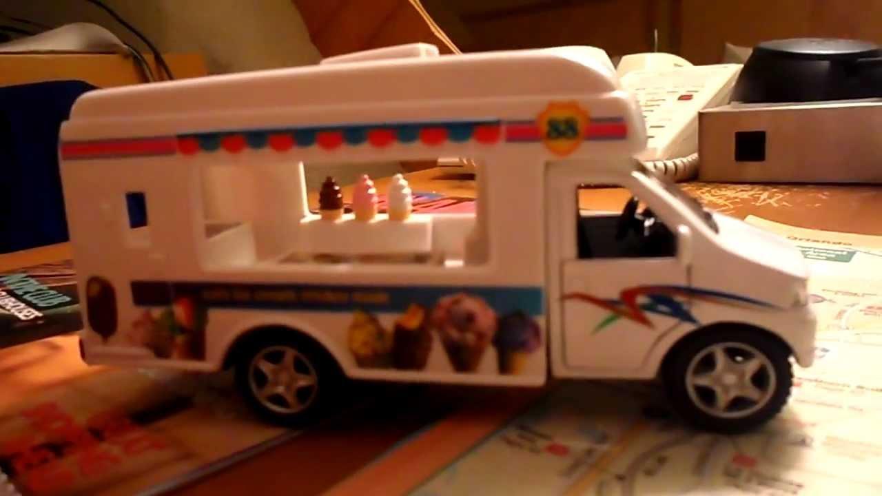 current cvs toy model american ice cream truck model