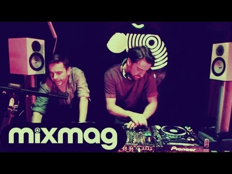 Laurent Garnier B2B Yousef techno set in Mixmag's Lab