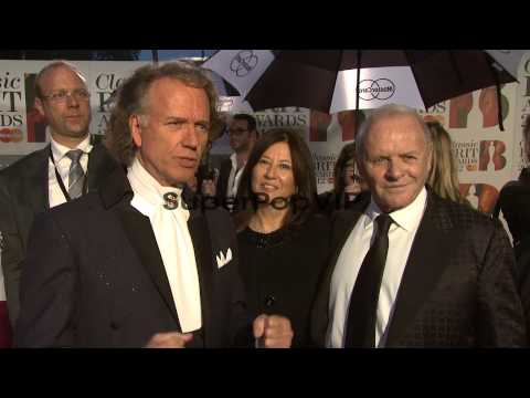 INTERVIEW Anthony Hopkins, Andre Rieu on composing, worki...