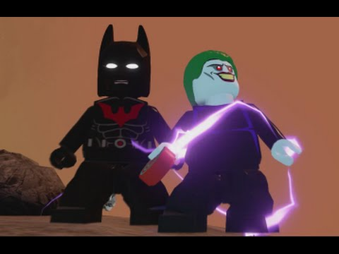 LEGO Batman 3 - Batman of the Future DLC Pack (All Characters & Free Roam Gameplay)