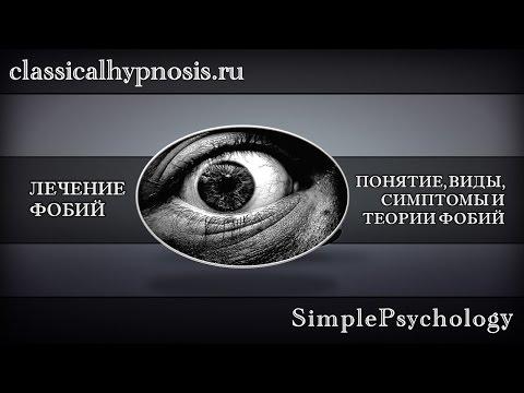 Работа с фобиями. Понятие, виды и симптомы фобий.