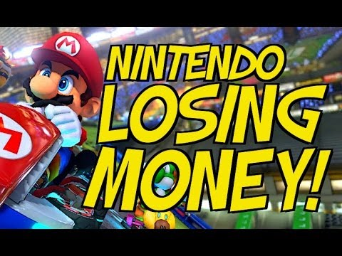 NINTENDO LOSING MONEY: WEAK WII U SALES TO BLAME!