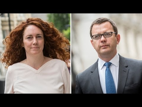Andy Coulson Found Guilty Of Phone Hacking, Rebekah Brooks Found Not Guilty