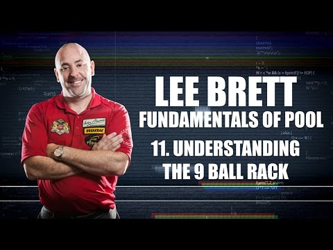APA - Lee Brett Instructional Series - Lesson 11 - Understanding the 9-Ball Rack
