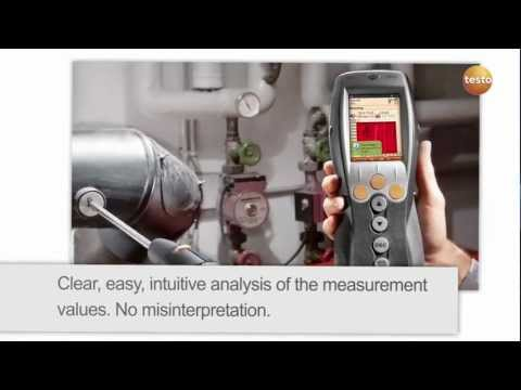 testo 330 - Flue Gas Analyser